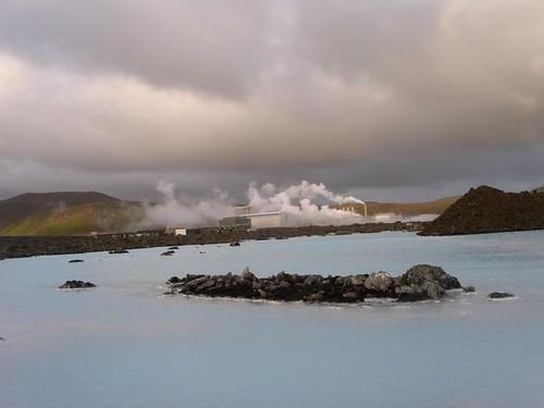 Geothermalkraftwerk bei Reykjavik