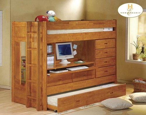 B21A COMPLETE BEDROOM BUNK