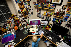 Owen's command center