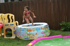 Picture 130 (Joe_Pena) Tags: party water pool jump slide airtime alondra diegosbirthday