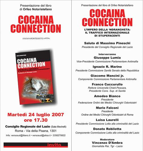 Invito Presentazione Consiglio regionale Lazio 24 luglio 2007
