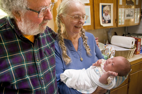 Katie and Her Grandparents