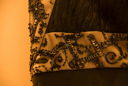 Heres the great detailing on the bodice.