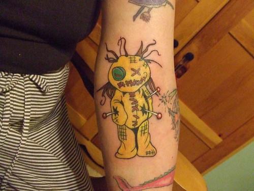 my first scary tattoo. Tattoo