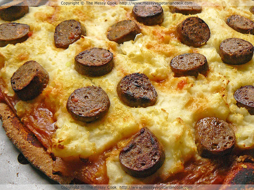 Sausage and Mash Pizza