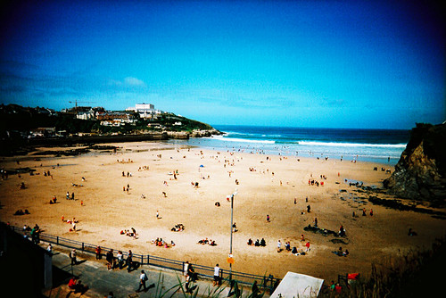 Cross Processed Towan Beach