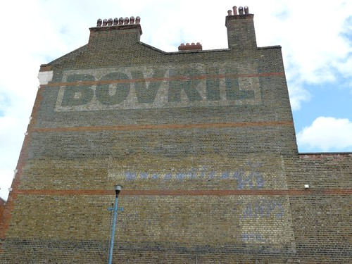 Bovril ghost sign Brixton South London