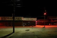 Thin Hit (k.james) Tags: dark restaurant alley empty diner eat bowling nothing deadwood goodfood lanes kenthenderson rosevillelanes blindscore