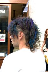 haircolor blue purple (wip-hairport) Tags: blue haircut portugal punk purple post lisbon hairdresser haircolor wiphairport