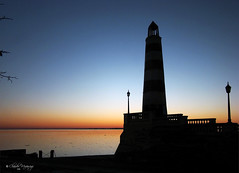 Sunrise/Amanecer - Faro/Lighthouse - Costanera, Santa Fe, Argentina