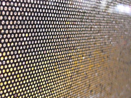 公車窗戶的遮陽網