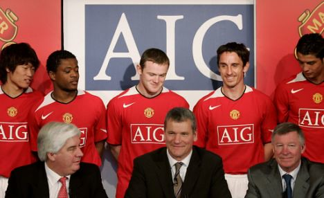 Can AIG Still Sponsor Manchester United?