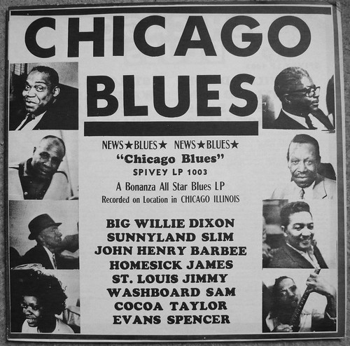 Chicago Blues: A Bonanza All-Star Blues LP