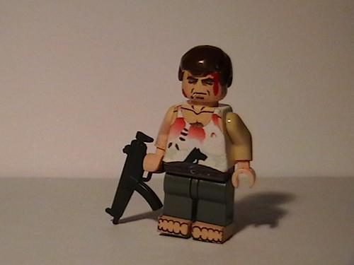 Die Hard John Mcclain custom minifig