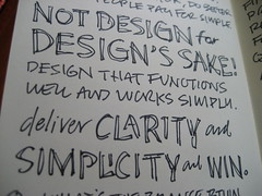 Jason Fried Discovery World Sketchnotes: Clarity & Simplicity