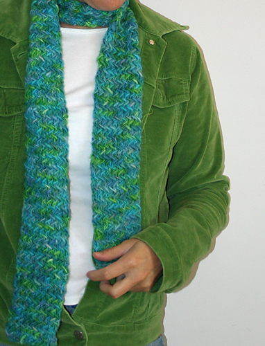 favorite scarf for my favorite green jacket
