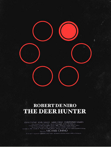poster arte película Deer Hunter