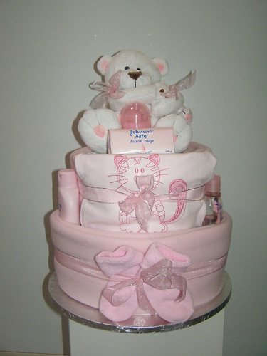 Nappy Cakes Easy Diaper Cake Instructions