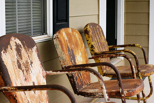 Metal Chairs To Paint 2