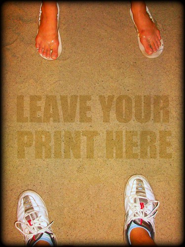 Leave Your Print Here