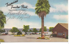 Tramview Trailer Park (gtykal) Tags: travel camping vintage trailer airstream spartan