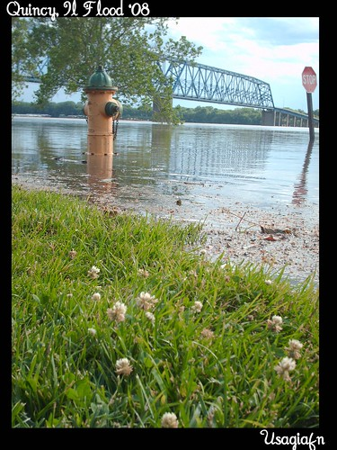 Quincy Riverfront Under Water