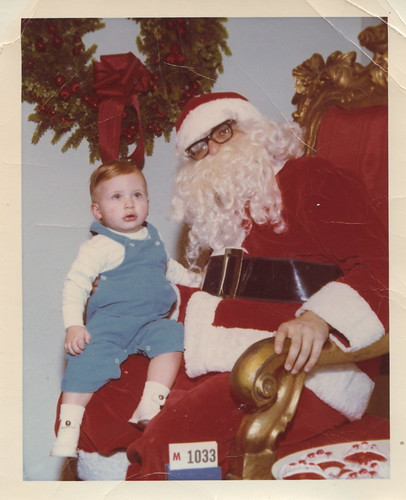 A Visit With Santa: Age 1