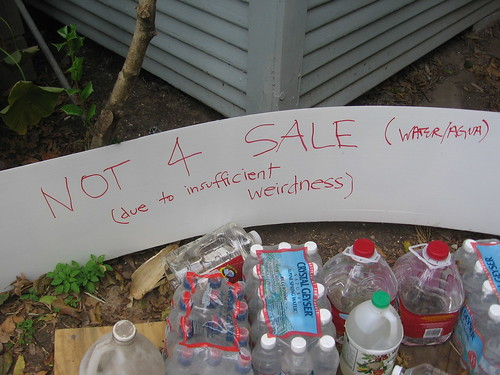 Museum of The Weird Yard Sale Sign