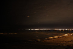 00582 -  (~maxi) Tags: sea sky night clouds iso3200 australia melbourne stkildabeach f35 05s canoneos50d williamstowninthedistance decemberhomeleave