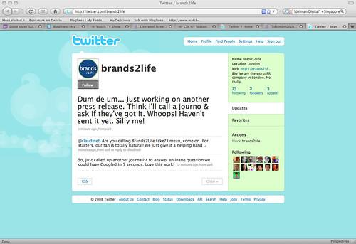 Brands2Life brand hijacked