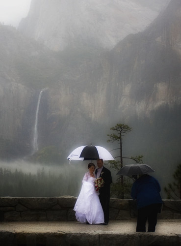 Photo of the Day: Yosemite Nuptials by ksherlockprgal
