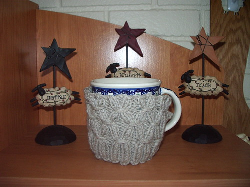 Grams Polish Pottery Mug Cozy
