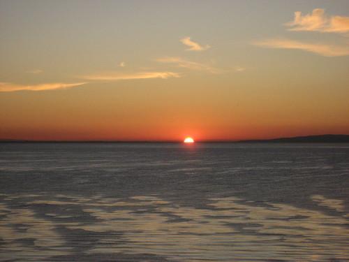 ahh, solstice sun rising