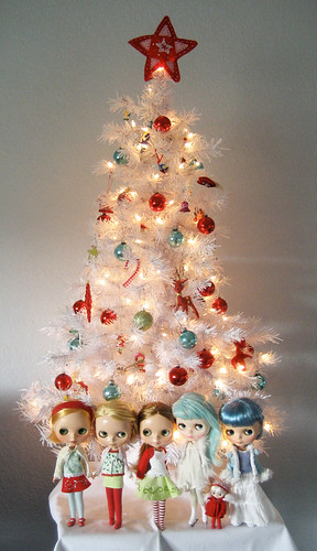 Happy Dolly Christmas tree by merwing✿little dear