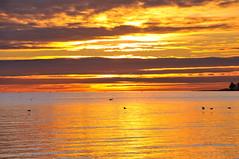 Colorful Sunset Oeresund, Dragoer, Copenhgen Denmark (OrangUtanSam) Tags: sunset sky cloud sun clouds denmark dragør skies copenhagenairport øresund dragoer redskies oeresund theperfectphotographer