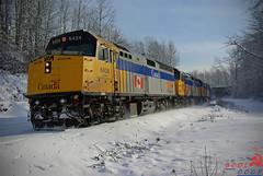 Via Rail (BCOL CCCP) Tags: snow nice good rail via burnaby cccp bcol