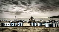 Aparcando en la playa (Fernando Rey) Tags: sea summer beach boat mar barco playa container verano soe contenedores almuñecar freedancephotographers