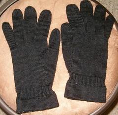 gloves plain