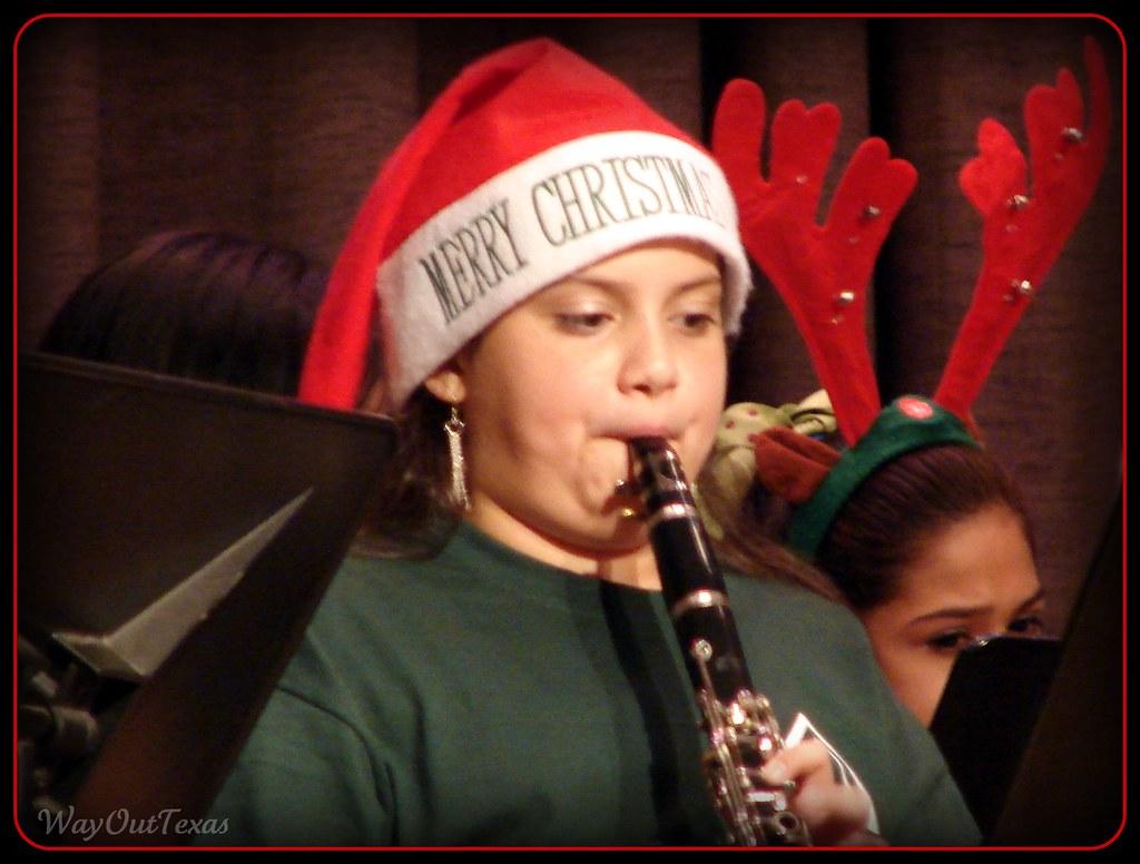 Randi Playing The Clarinet 2008