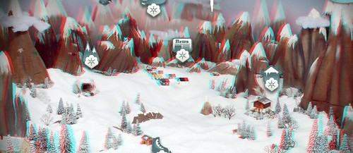 Snowdin - Grab Your 3D Glasses and Explore This A Magical Land 3