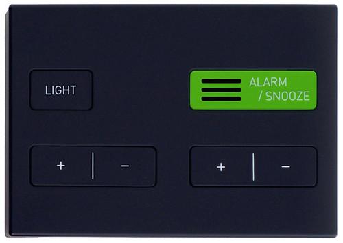 Jetlag alarm clock control panel