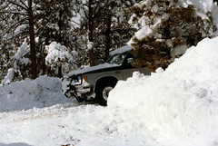 Colorado snow day (twm1340) Tags: snow chevrolet colorado 4x4 tahoe chevy bailey co 1983 suv winch blazer s10 warn parkcounty