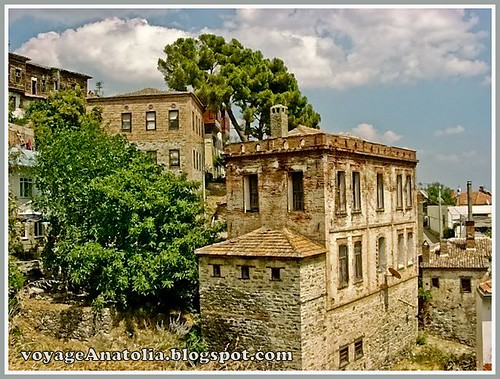 Old Altinoluk Houses by voyageAnatolia