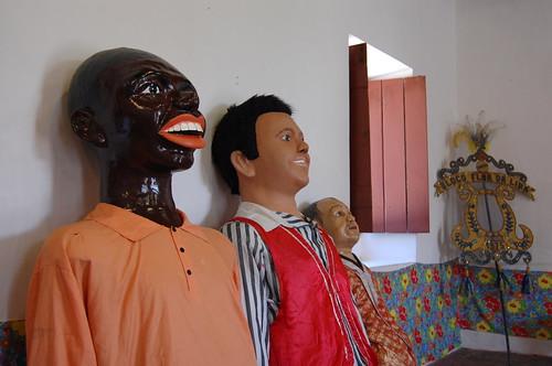 Olinda Carnival puppets