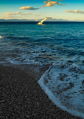 Incomparable (lefteris_) Tags: winter sunset sea beach greece rodos rhodes rhodos  leicadigilux3