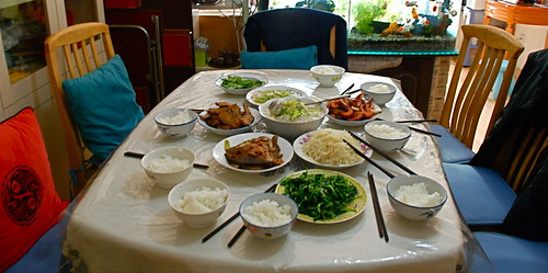 lunch at grandma's in beijing
