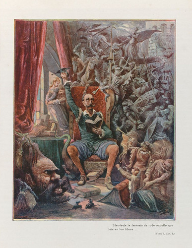 028-El ingenioso hidalgo Don Quijote de la Mancha 1905 - acuarelas de Salvador Tusell