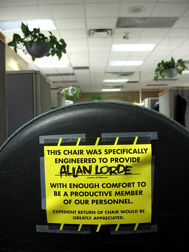 Expedeient Return of Chair