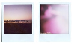 (bleedsinaudio) Tags: sunset polaroid january 2009 sutterbuttes fail suttercounty