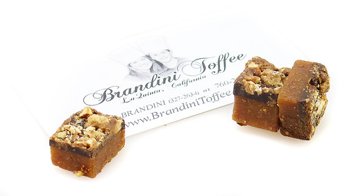 Brandini Toffee Samples